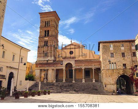 Saint Caesarius cathedral of Terracina in Lazio