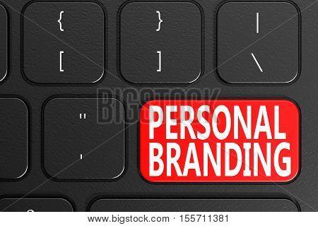 Personal Branding On Black Keyboard