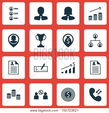 Set Of Hr Icons On Successful Investment, Tree Structure And Bank Payment Topics. Editable Vector Il