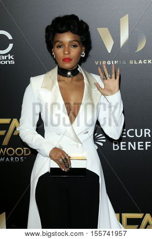 LOS ANGELES - NOV 6:  Janelle Monae at the 20th Annual Hollywood Film Awards  at Beverly Hilton Hotel on November 6, 2016 in Beverly Hills, CA