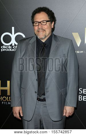 LOS ANGELES - NOV 6:  Jon Favreau at the 20th Annual Hollywood Film Awards  at Beverly Hilton Hotel on November 6, 2016 in Beverly Hills, CA