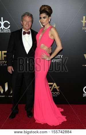 LOS ANGELES - NOV 6:  John Savage, Blanca Blanco at the 20th Annual Hollywood Film Awards  at Beverly Hilton Hotel on November 6, 2016 in Beverly Hills, CA
