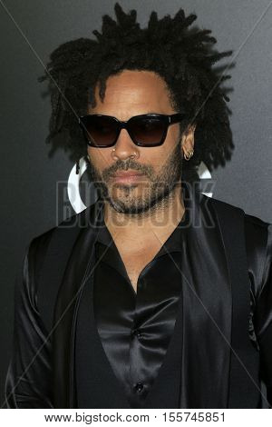 LOS ANGELES - NOV 6:  Lenny Kravitz at the 20th Annual Hollywood Film Awards  at Beverly Hilton Hotel on November 6, 2016 in Beverly Hills, CA