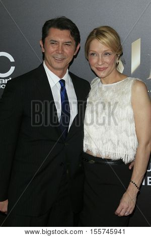 LOS ANGELES - NOV 6:  Lou Diamond Phillips, Yvonne Boismier Phillips at the 20th Annual Hollywood Film Awards  at Beverly Hilton Hotel on November 6, 2016 in Beverly Hills, CA
