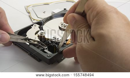 HDD harddisk file save record hardware fix