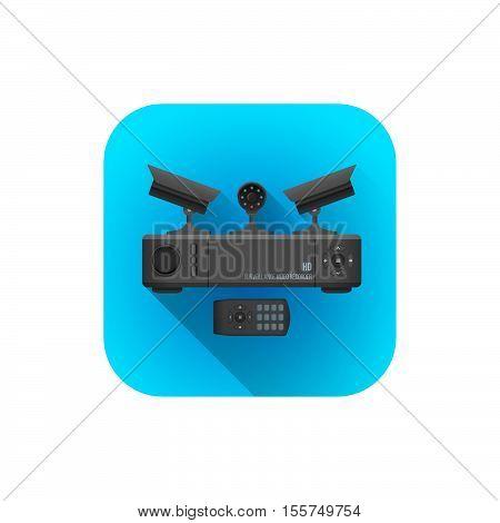 Vector Surveillance Cameras Recorder.