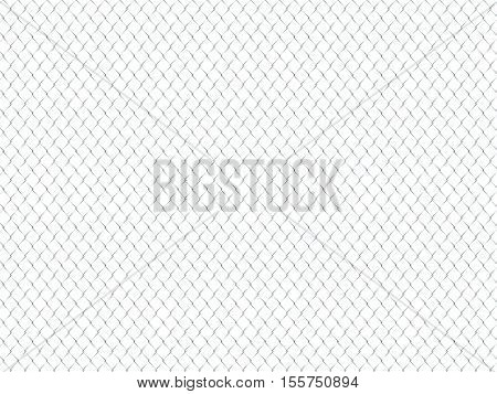 3d image of  classic metal fence