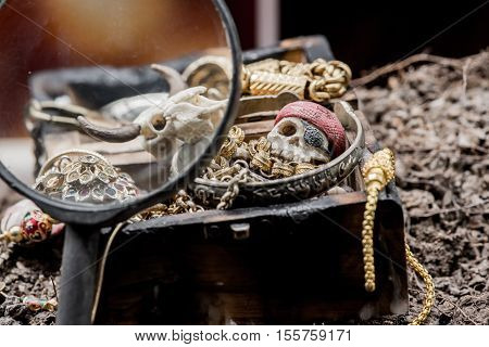 Pirate And Treasure, Columbus Day