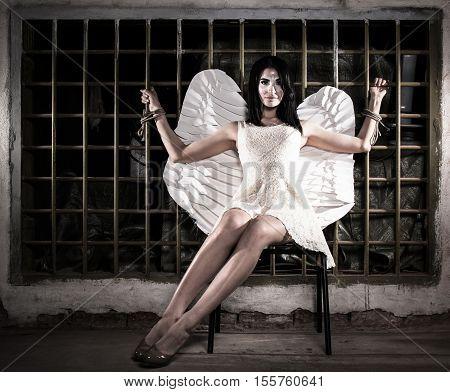 Angel Tied To The Lattice