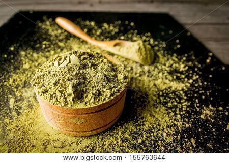 Traditional Japanese And Chinese Tea Matcha