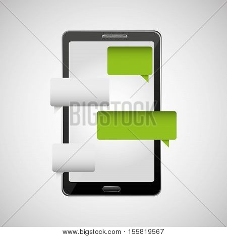 concept chating message icon vector illustration eps 10