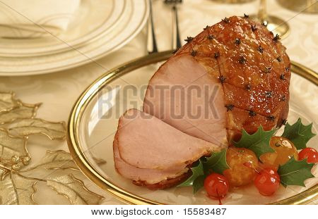 Juicy Smoked Ham