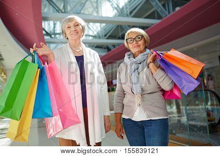 Shopping on retirement