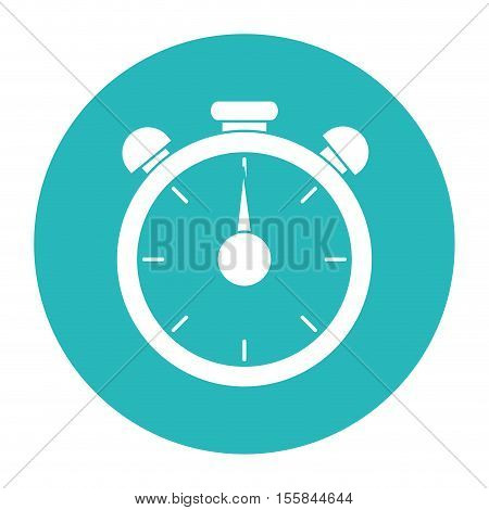 Chronometer tool icon. Fitness gym bodybuilding bodycare and fit theme. Isolated design. Vector illustration