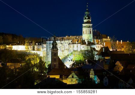Castle of Cesky Krumlov, South Bohemia, Czech Republic.
