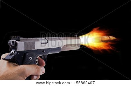 Fiering Hand Gun
