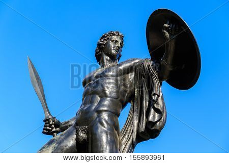 Statue of Achilles in Hyde Park London