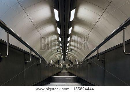 Interior Of London Underground