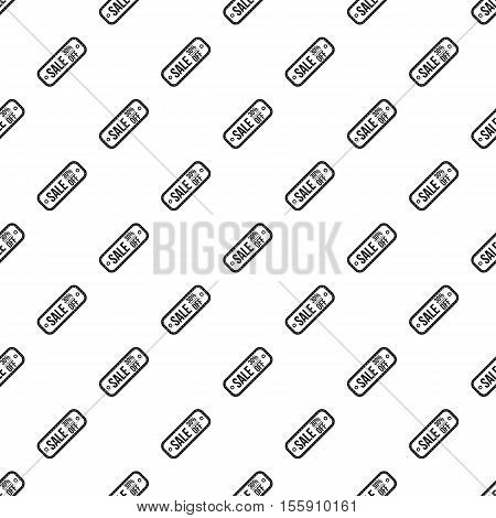 Sale tag 30 percent off pattern. Simple illustration of sale tag 30 percent off vector pattern for web