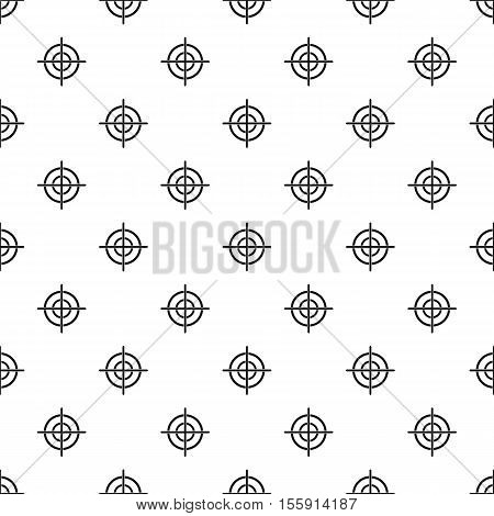 Target crosshair pattern. Simple illustration of target crosshair vector pattern for web