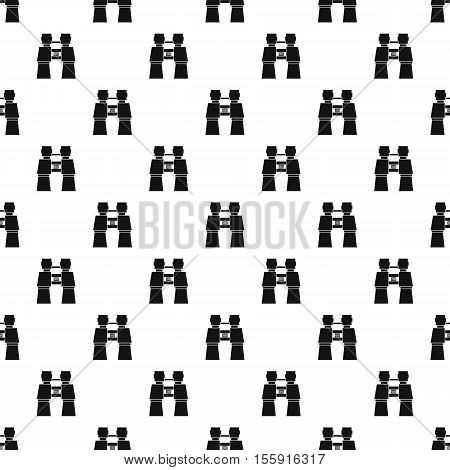 Binocular pattern. Simple illustration of binocular vector pattern for web