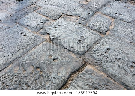 Texture Of Ancient Stone