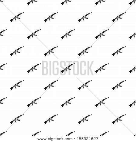 Kalashnikov machine pattern. Simple illustration of Kalashnikov machine vector pattern for web