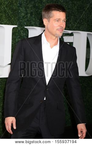 LOS ANGELES - NOV 9:  Brad Pitt at the