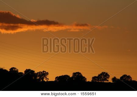 Silhouette Sunset