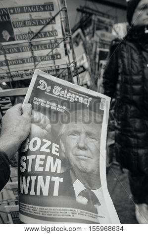De Telegraaf Donald Trump New Usa President
