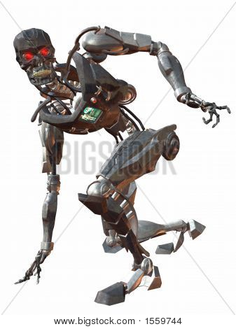 Cyborg 3000-Crouch