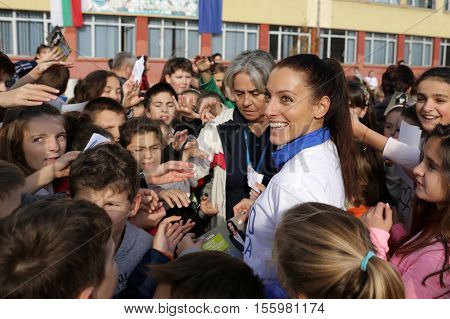 Ivet Lalova-collio Students