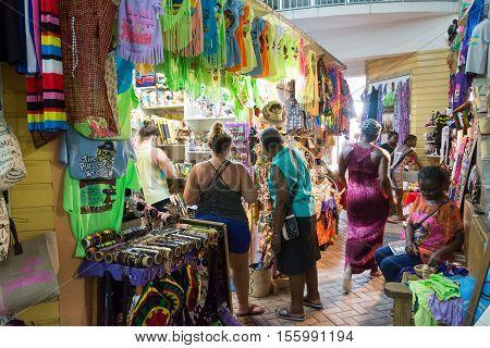 Nassau, Bahamas Straw Market