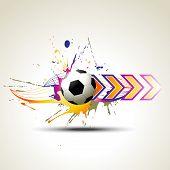 football vector artistic design illustration poster