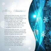 vector snowflake background design illustration poster