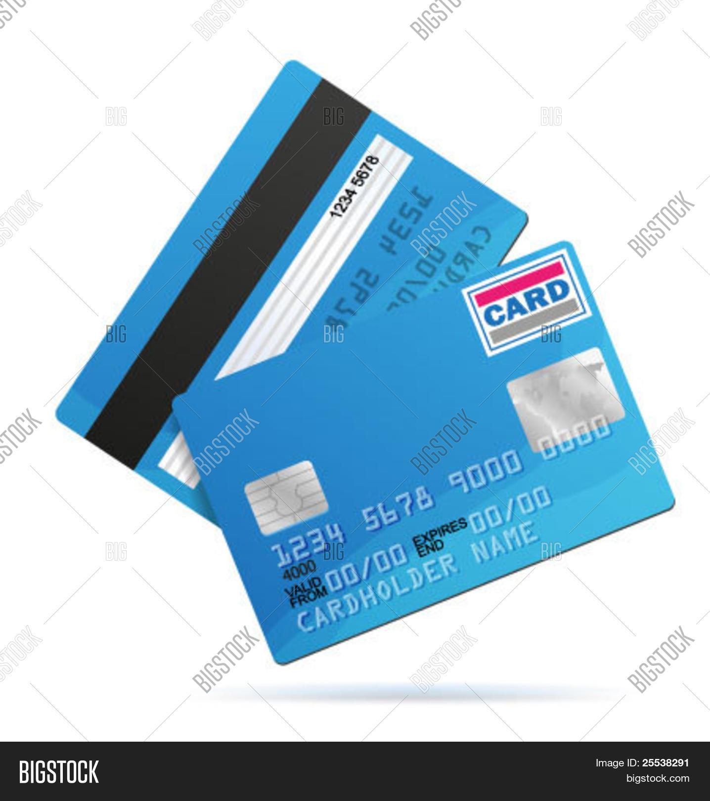 Vector Credit Card Vector Photo Free Trial Bigstock