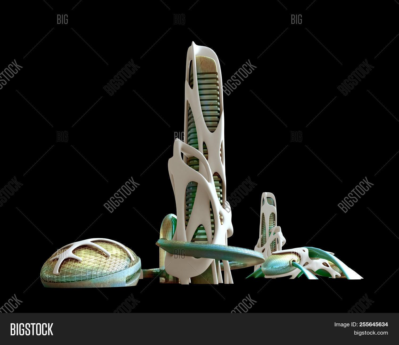3d Futuristic Sci-fi Image & Photo (Free Trial) | Bigstock