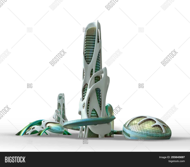 3d Futuristic Sci Fi Image & Photo (Free Trial) | Bigstock