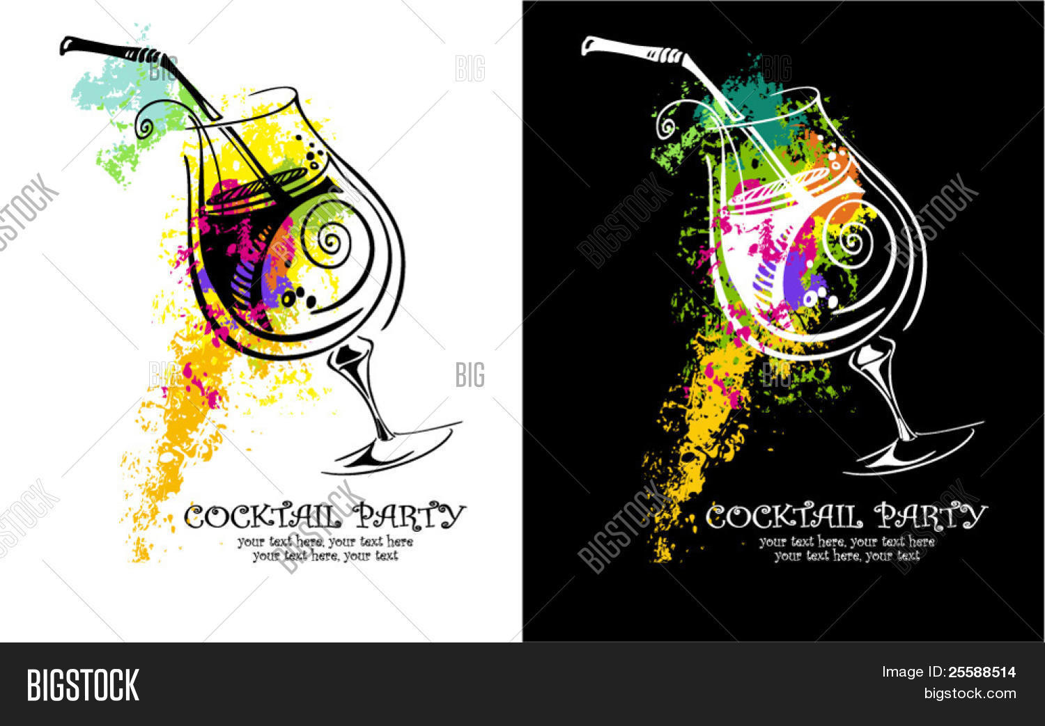 b680ee6f1a Cocktail Party Vector & Photo (Free Trial) | Bigstock