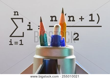 Mathematical Formula Used To Calculate The Sum Of Integers