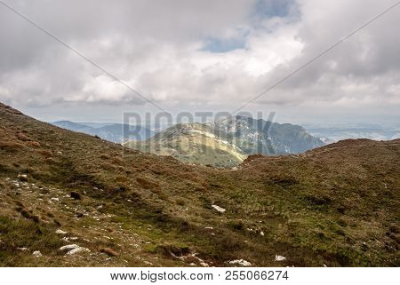 Ornak, More Rocky Kominiarski Wierch And Other Lower Hills Around From Hiking Trail Bellow Blyst Hil