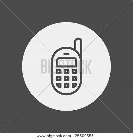 Mobile Phone Icon. Element Of Web Icon For Mobile Concept And Web Apps. Isolated Mobile Phone Icon C