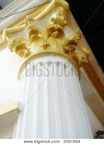 Pillar In Roman Style