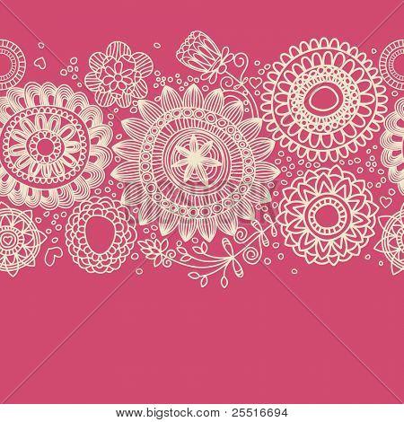 Achtergrond Floral (naadloze patroon)
