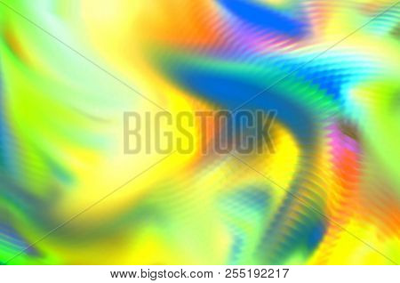 Cool Trendy Wild Summer Feeling Wrinkly Blur Splatter Design Image Picture Background Abstraction