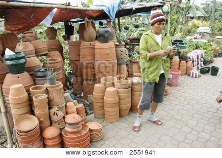 Lady Market Vendor