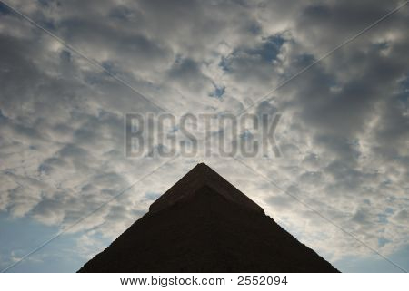 The Pyramid And The Clouds