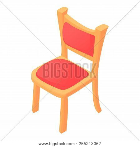 Chair Icon. Cartoon Illustration Of Chair Icon For Web