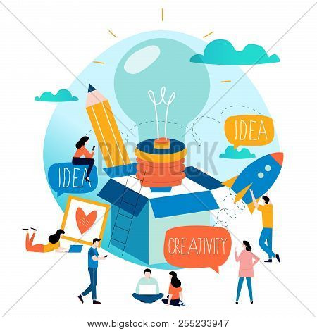 Idea, Thinking Outside The Box, Content Development, Brainstorming, Creativity, Project And Research