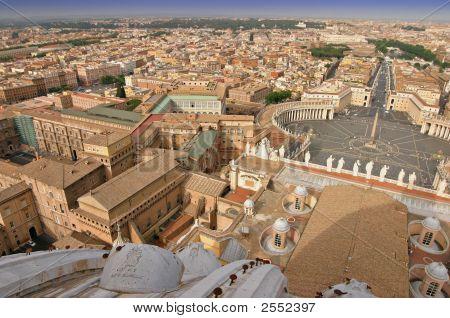Rome Panorama View
